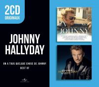 Cover Johnny Hallyday - On a tous quelque chose de Johnny + Best Of