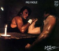Cover Johnny Hallyday - Pas facile