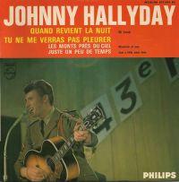 Cover Johnny Hallyday - Quand revient la nuit