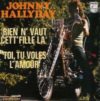 Cover Johnny Hallyday - Rien n'vaut cette fille-là
