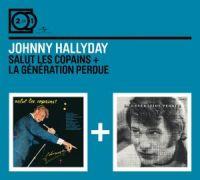 Cover Johnny Hallyday - Salut les copains + La génération perdue