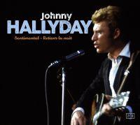 Cover Johnny Hallyday - Sentimental - Retiens la nuit