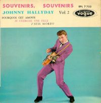Cover Johnny Hallyday - Souvenirs souvenirs