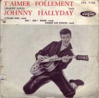 Cover Johnny Hallyday - T'aimer follement