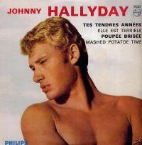 Cover Johnny Hallyday - Tes tendres années