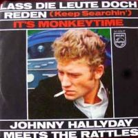 Cover Johnny Hallyday meets The Rattles - Lass' die Leute doch reden