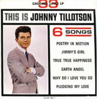 Cover Johnny Tillotson - Poetry In Motion