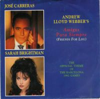 Cover José Carreras & Sarah Brightman - Amigos para siempre (Friends For Life)