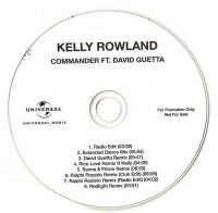 Cover Kelly Rowland feat. David Guetta - Commander