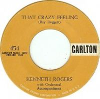 Cover Kenny Rogers - That Crazy Feeling