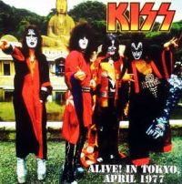 Cover KISS - Alive! In Tokyo, April 1977