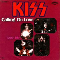 Cover KISS - Calling Dr. Love