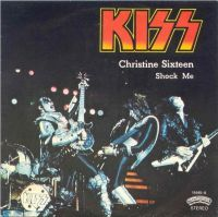 Cover KISS - Christine Sixteen