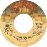 Cover KISS - Detroit Rock City