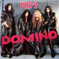 Cover KISS - Domino