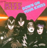 Cover KISS - Down On Your Knees