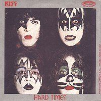 Cover KISS - Hard Times