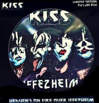 Cover KISS - Heaven's On Fire Over Iffezheim