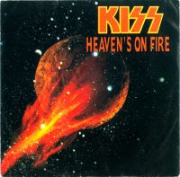 Cover KISS - Heaven's On Fire