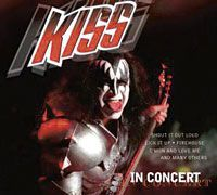 Cover KISS - In Concert