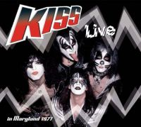 Cover KISS - Live - In Maryland 1977