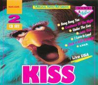 Cover KISS - Live USA