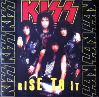 Cover KISS - Rise To It