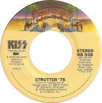 Cover KISS - Strutter '78