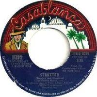 Cover KISS - Strutter