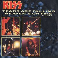 Cover KISS - Tears Are Falling
