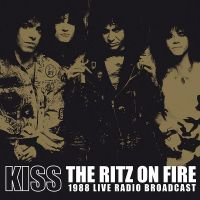 Cover KISS - The Ritz On Fire - 1988 Live Radio Broadcast