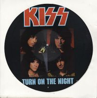 Cover KISS - Turn On The Night