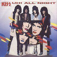 Cover KISS - Uh! All Night