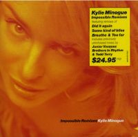 Cover Kylie Minogue - Impossible Remixes