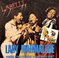 Cover Labelle - Voulez vous coucher avec moi ce soir? (Lady Marmalade)