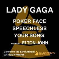 Cover Lady Gaga feat. Elton John - Poker Face / Speechless / Your Song (Live)