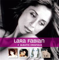 Cover Lara Fabian - 4 albums originaux