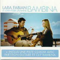 Cover Lara Fabian & Jean-Félix Lalanne - Bambina