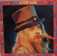 Cover Leon Russell - Leon Live