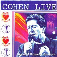 Cover Leonard Cohen - Cohen Live - Leonard Cohen In Concert