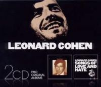 Cover Leonard Cohen - Songs Of Leonard Cohen + Songs Of Love And Hate