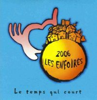 Cover Les Enfoirés - Le temps qui court