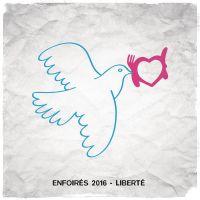 Cover Les Enfoirés - Liberté