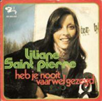 Cover Liliane Saint-Pierre - Heb je nooit vaarwel gezegd