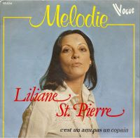 Cover Liliane Saint-Pierre - Mélodie