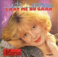 Cover Linda Lepomme - Laat me nu gaan