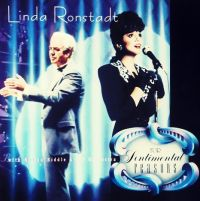 Cover Linda Ronstadt with Nelson Riddle & His Orchestra - For Sentimental Reasons