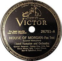 Cover Lionel Hampton And Orchestra feat. The King Cole Trio - House Of Morgan