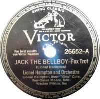 Cover Lionel Hampton And Orchestra feat. The King Cole Trio - Jack The Bellboy