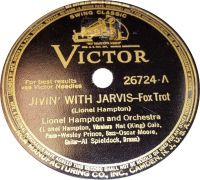 """Cover Lionel Hampton & His Orchestra feat. Nat """"King"""" Cole - Jivin' With Jarvis"""